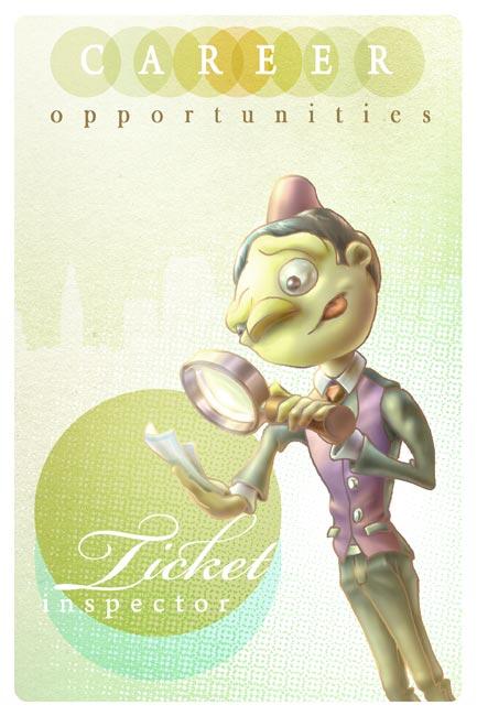 Andrew R Shondrick -- Ticket Inspector