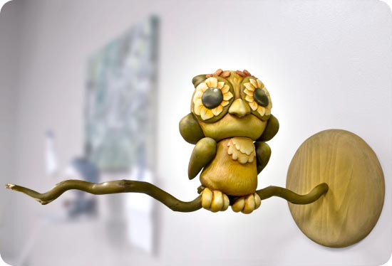 Andrew R Shondrick -- Autumn owl -- Munny