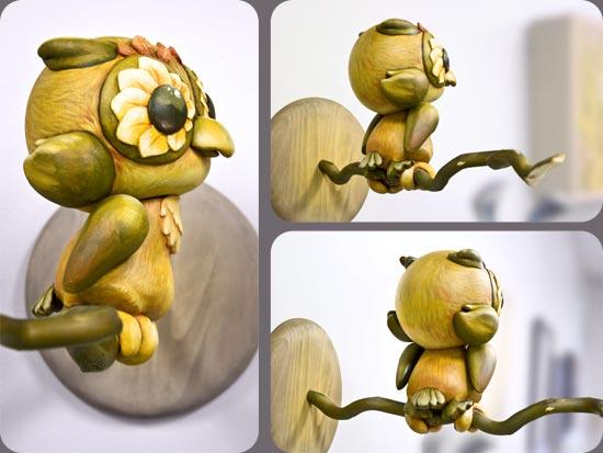 Autumn Owl -- Munny by Andrew R Shondrick