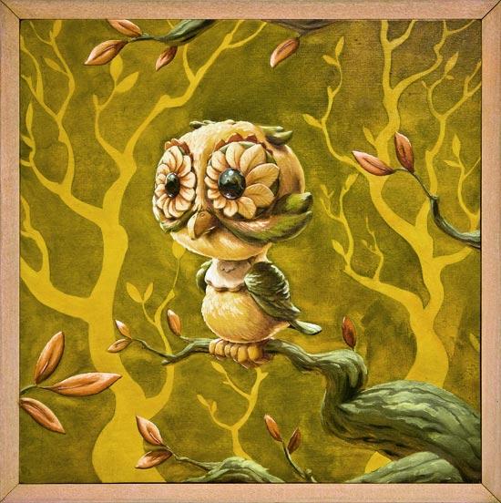 Andrew R Shondrick -- Autumn Owl