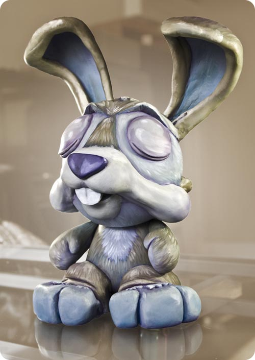 Andrew R Shondrick -- Rabbit in Respite -- Munny