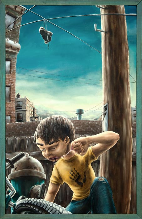 The Education of A Latch-Key Kid by Andrew R Shondrick