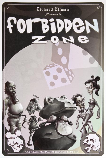 Andrew R Shondrick --The Forbidden Zone