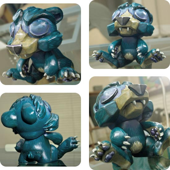 Andrew R Shondrick -- Grizzly in Respite -- Munny