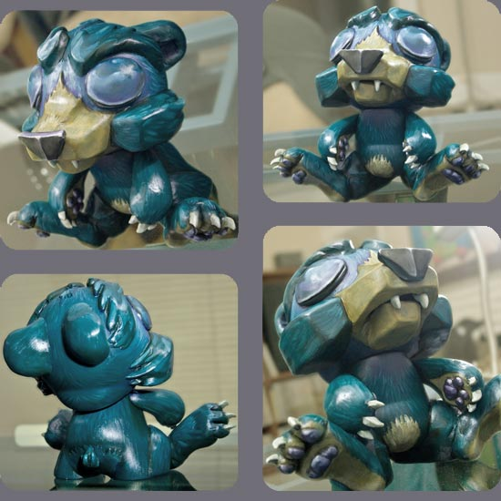 Grizzly in Respite -- Munny by Andrew R Shondrick