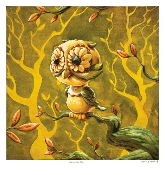 Autumn Owl by Andrew R Shondrick