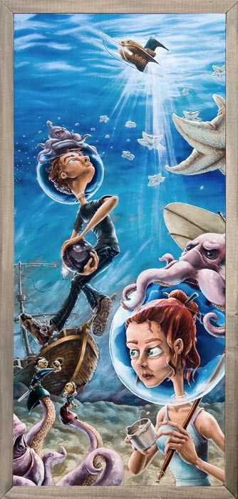 Never Remembered By Many Were We Beneath the Sea by Andrew R Shondrick